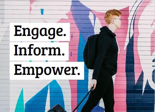 Engage. Inform. Empower.