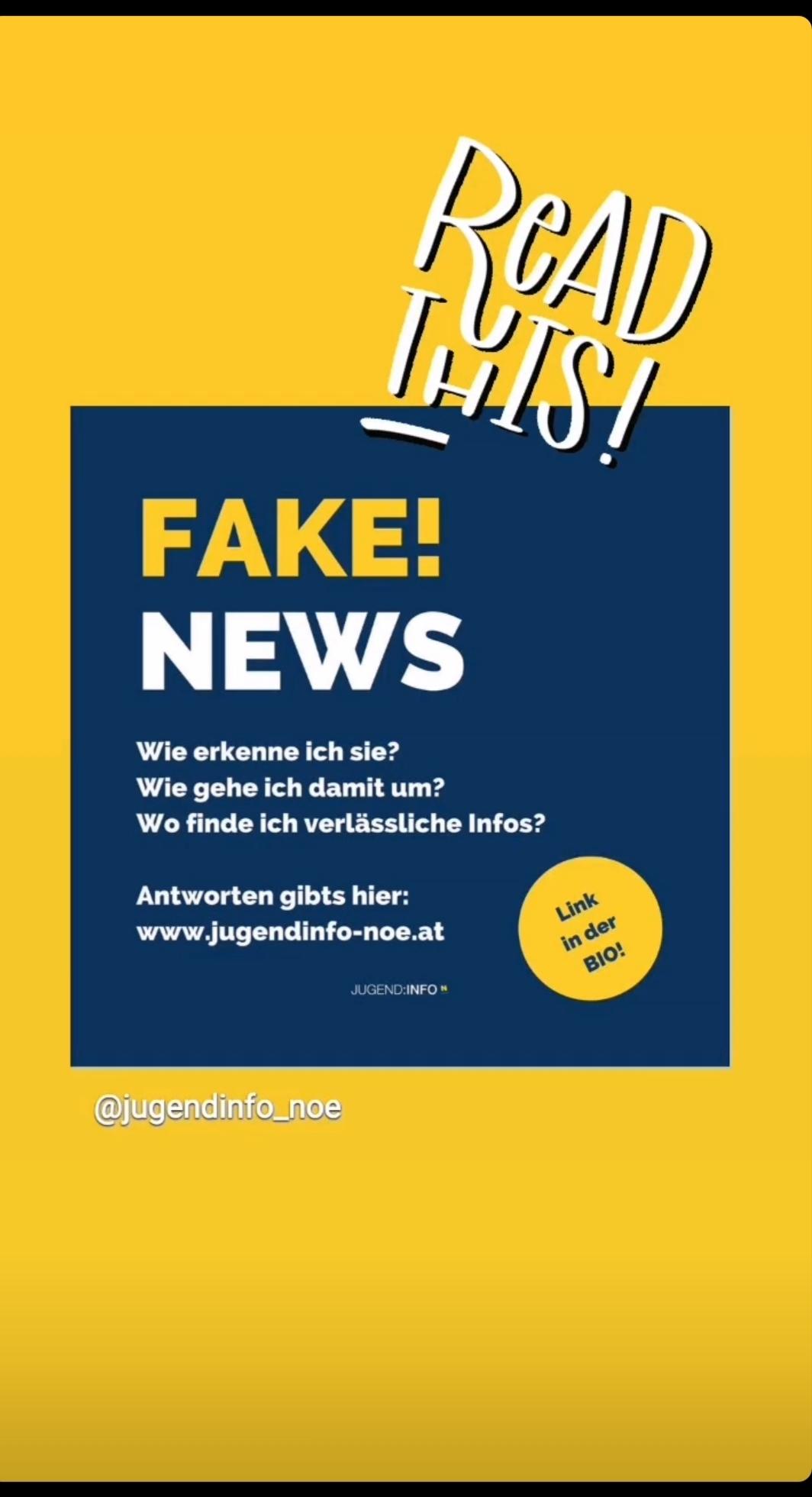 Fake News Jugendifo NÖ