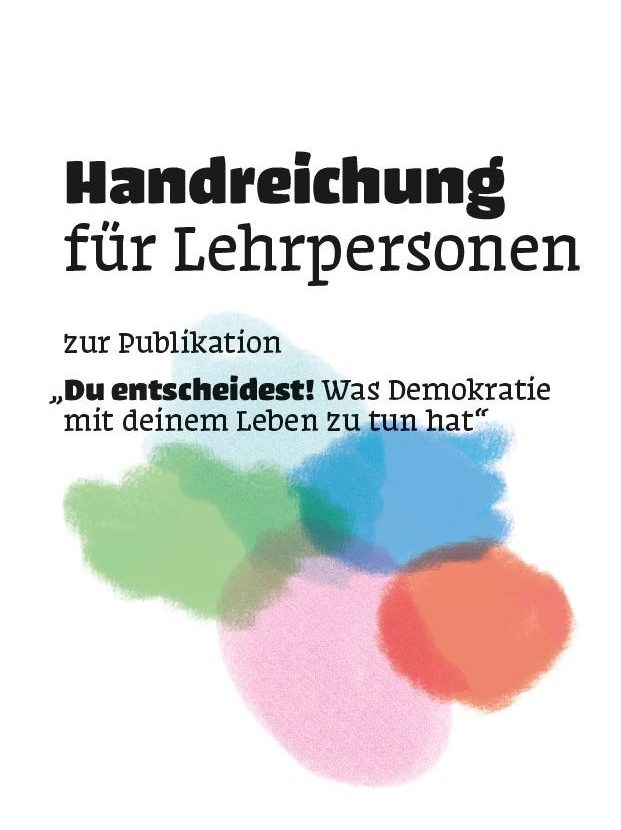 Handreichung zur Publikation für Lehrpersonen
