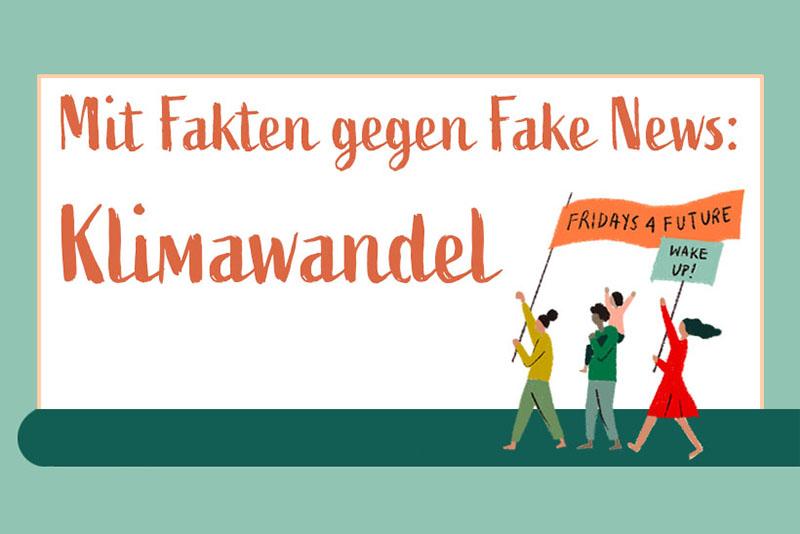 Mit Fakten gegen Fake News: Klimawandel